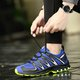 Outdoor Sports Hiking Lace-up Flat Heel Athletic Sneakers