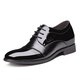 Lace-up PU Low Heel All Season Formal Shoes