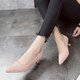 Women Cute Kitten Heel Daily Pumps