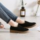 Nubuck Slip On Daily Casual Loafers
