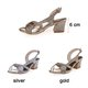 PU Chunky Heel Adjustable Buckle Pumps