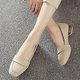 Thick Heels Round Toe Pumps For Women