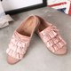 Flat Heel Slip On Daily Bowknot Loafers