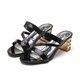 Casual PU Slip On Daily Chunky Heel Pumps