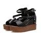 Adjustable Buckle Casual Summer Wedge Heel Sandals
