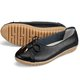 Daily Slip On Bowknot Leather Flats
