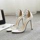 Diamond Splicing Open Toe Thin Sandals