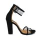 Chunky Heel Casual Adjustable Buckle Pumps