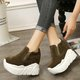 Casual Slip On Creeper Sport Shoes