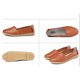 Slip On Flat Heel Leather Daily Shoes