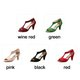 Women Nubuck Pumps Casual Peep Toe Adjustable Buckle Shoes