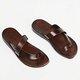 Women PU Slippers Casual Flip Flops Shoes
