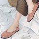 Women Flocking Flats Casual Comfort Slip On Shoes