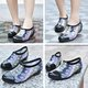 Women PVC Loafers Casual Comfort Waterproof Low Heel Shoes