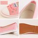 Daily Canvas Flats Candy Color Lace-up Flat Shoes
