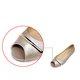 Women Plus Size Slip-On Flat Heel Peep Toe Casual Flats