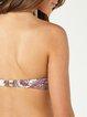 Tribal Printed Padded Halter Bikini