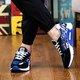 Mesh Air Cushion Split Joint Sneakers