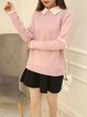 Peter Pan Collar H-line Long Sleeve Sweater