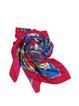 Multicolor Silk Casual Scarf