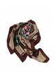 Multicolor Casual Silk Scarf