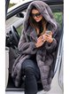 Womens Thick Faux Fur Big Hooded Parka Long Overcat Peacoat Winter Coats Jackets