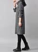 Women Daily Long Sleeve Casual Cotton Patch Plain Casual Dress