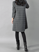 Women Daily Long Sleeve Casual Cotton Patch Plain Casual Dress