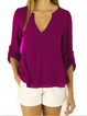 Women Blouses Plus Size S-5XL Chiffon / 11 Colors