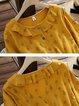 Long Sleeve Cotton Dresses