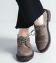 Comfy Lace Up Daily Flat Loafers Heel Tie Shoes