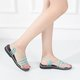 Women Comfortable Flip Flops Braided Sandals