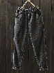 Corduroy Vintage Solid Pockets Harem Pants