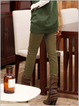 Thicker Cashmere Pockets Cotton Casual Pants