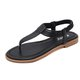 Women Elastic Band Summer Flip-Flops Sandals