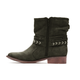 Women Nubuck Booties Casual Comfort Zipper Plus Size Shoes