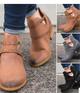 Vintage Criss-cross Metal Rivet Boots