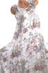 4 Colors Fashion Summer Floral Print Sleeveless Beach Casual Dress