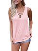 6 Colors Solid Sleeveless Summer T-Shirts Camis