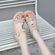 Women Beach Holiday Elastic Band Sandals