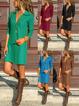 V Neck Women Spring Dresses Shift Daily Casual Dresses