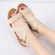 Women Comfort Sandals Summer Slip-on Flat Heel Gladiator Sandalias