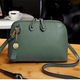 Women PU Leather High-end Shell Shape Elegant Multi Pockets Crossbody Bag