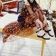 2019 Fashion Trends Low Heel Color block Buckle Flats