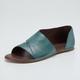 Women PU Sandals Casual Peep Toe Shoes