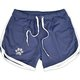 Men's Grid Quick Dry Beach Shorts