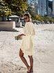 V Neck Women Summer Dresses Cutout Dresses