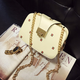 Vintage Three Layer Exquisite Printed Crossbody Bag For Women