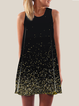 Shinning Printed Women Summer Dresses Daily Abstract Dresses