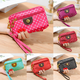 New Fashion Girl Women's Wallet Credit Card Key Phone Holder Zipper Purse